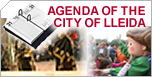 Agenda of the city of Lleida
