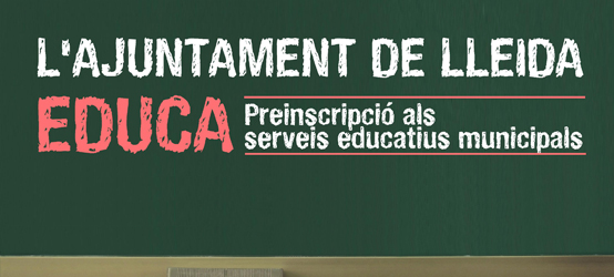 Pre-enrollment in municipal educational services